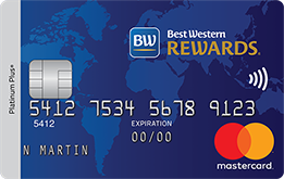 mbna best western rewards mastercard