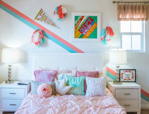 10 Wall Decor Ideas For Your Kids Bedrooms Common Cents Mom,Mid Century Modern Bedroom Furniture Sets