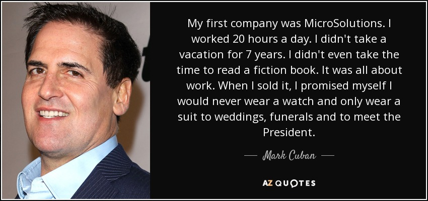 microsolutions mark cuban quote