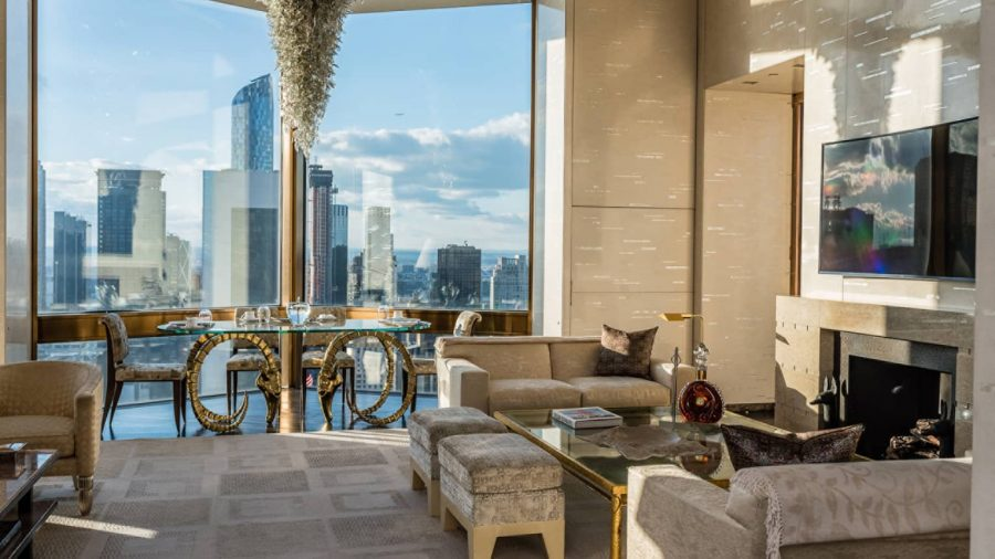 The Ty Warner Penthouse at Four Seasons Hotel New York