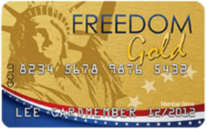 The Freedom Gold Card