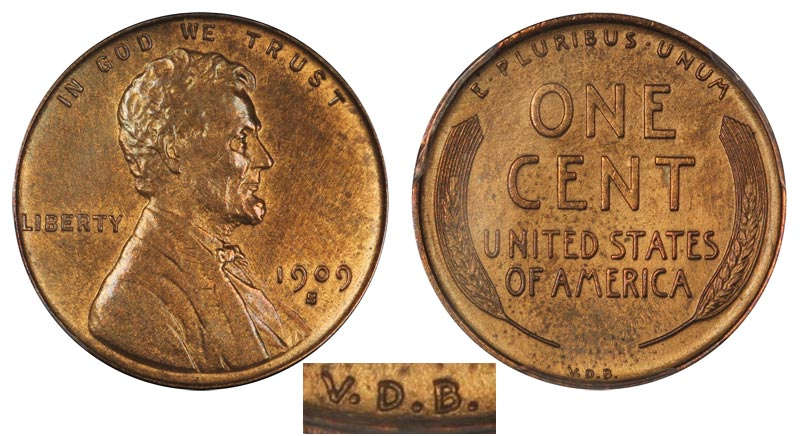1909-S VDB Lincoln Penny