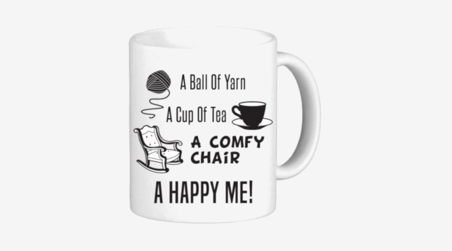 """A Ball of Yarn, a Cup of Tea…"" Mug"