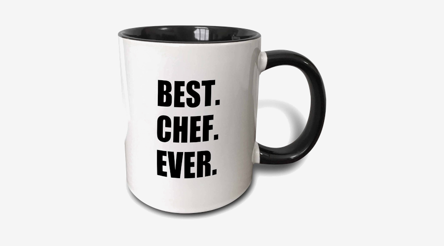 """Best. Chef. Ever."" Mug"