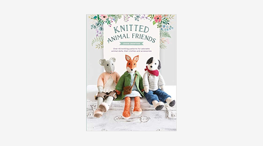 """Knitted Animal Friends"" by Louise Crowther"