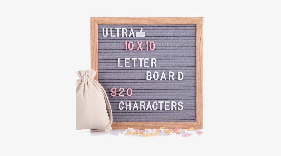 LifeEase Felt Letter Board