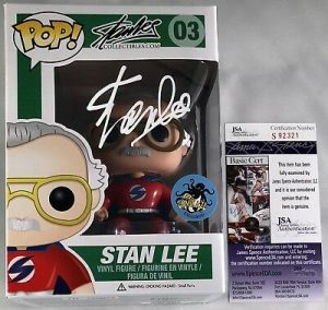 Stan Lee Signed Funko Pops