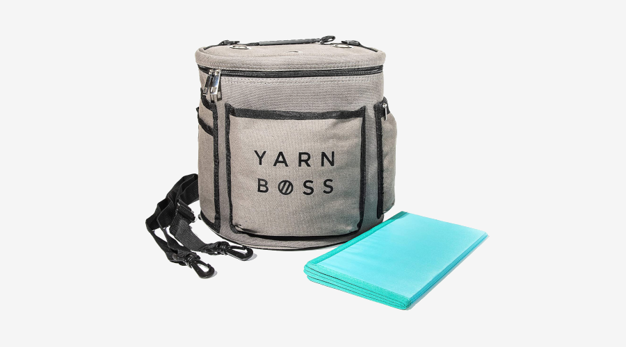 """Yarn Boss"" Knitting Bag"
