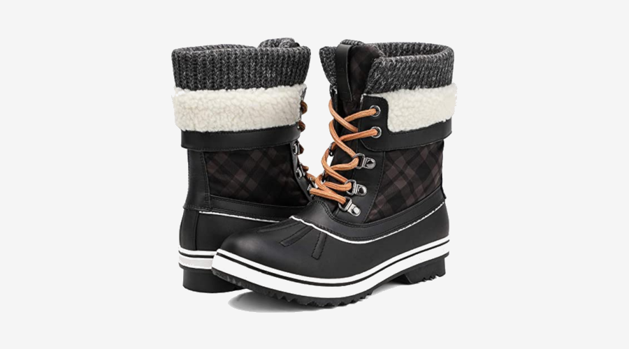 ALEADER Women's Fashion Snow Boots