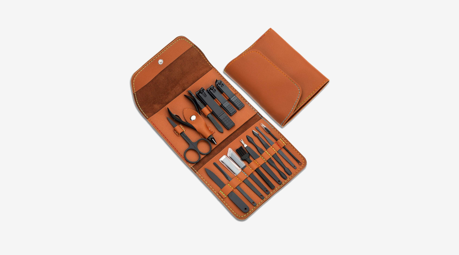Atimier Stainless Steel Manicure Set