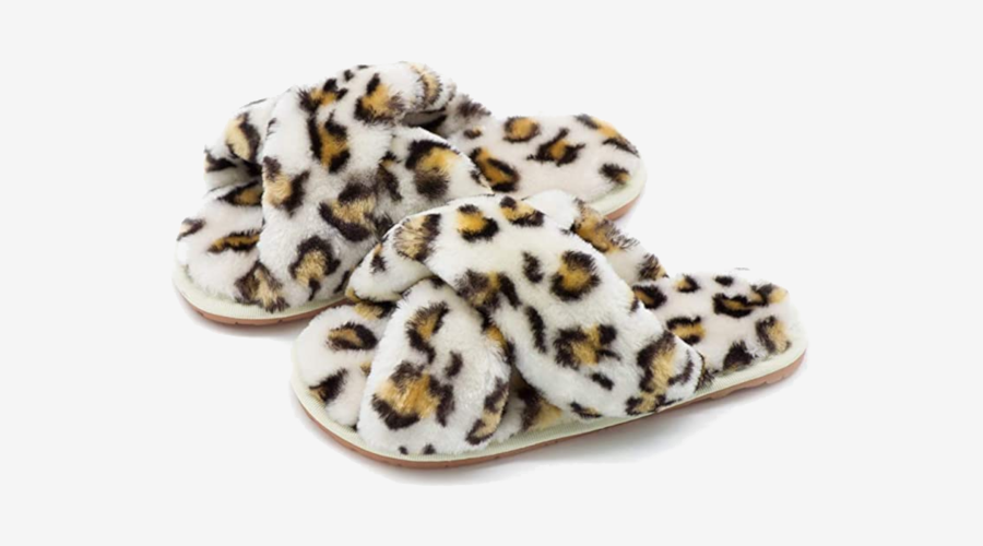 Crazy Lady Fur Slippers