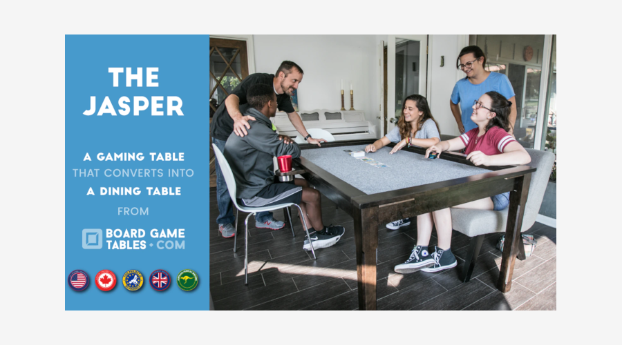 Jasper by Board Game Tables