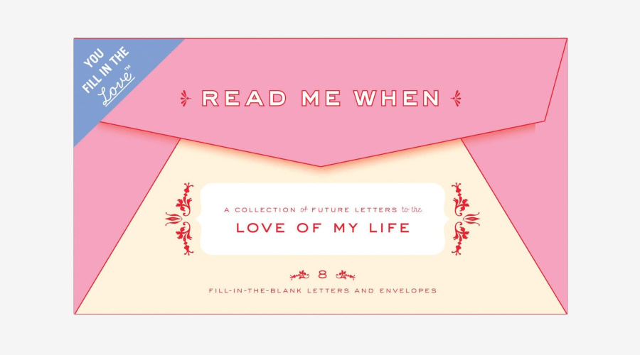 Letters to the Love of My Life - 'Read Me When' Box