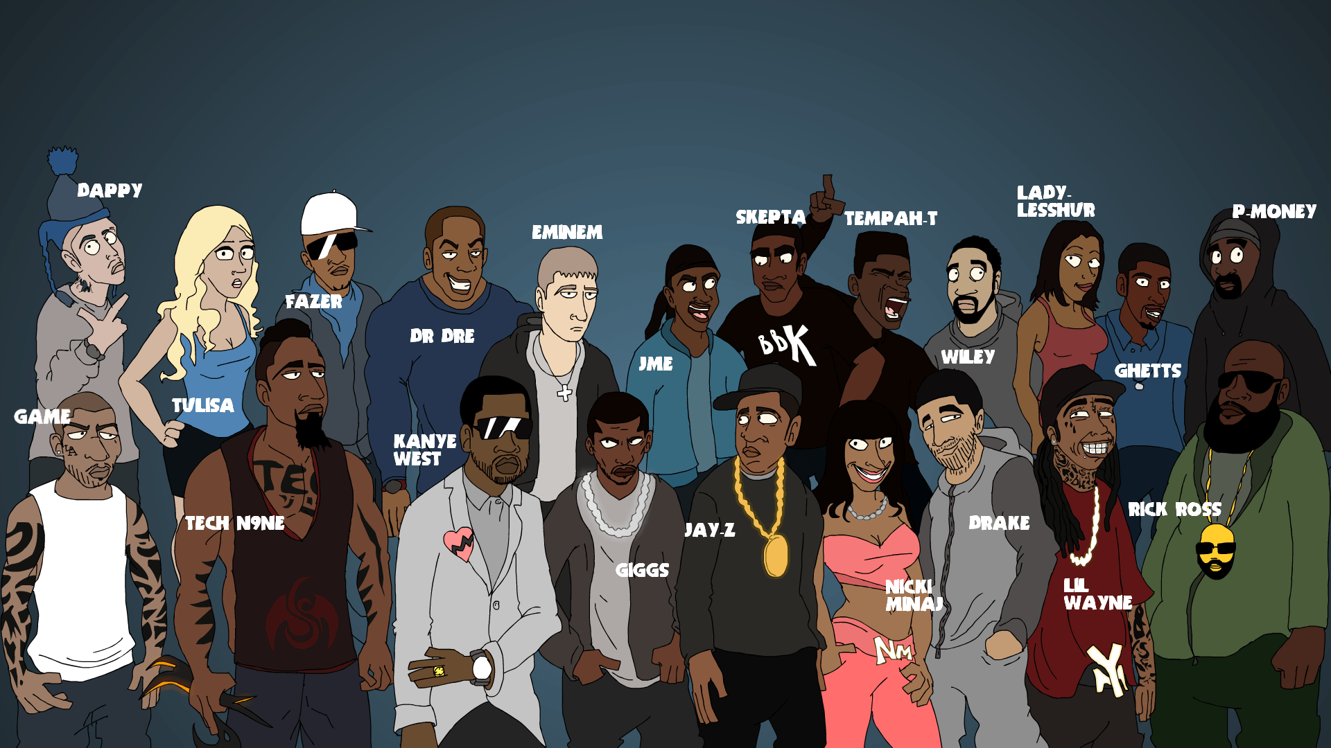 richest rappers ever