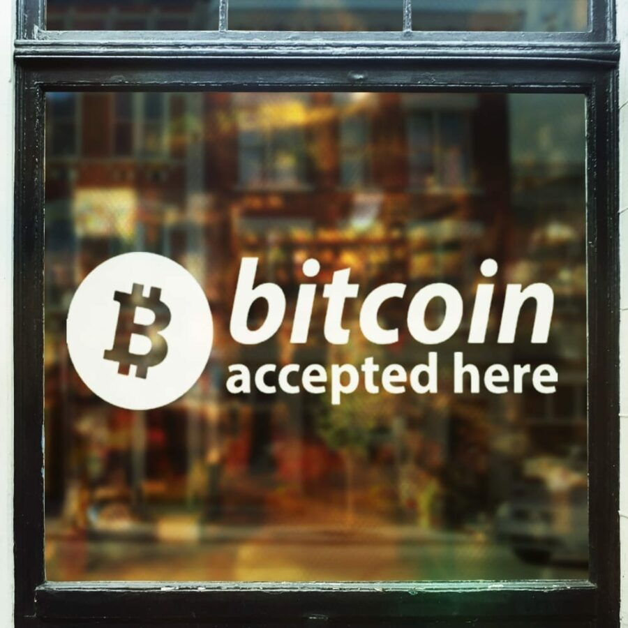 bitcoin accepted in stores