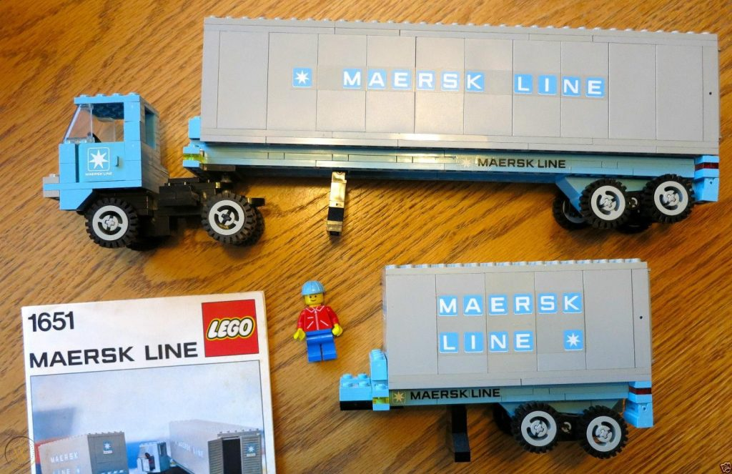 Maersk Container Lorry (1651)