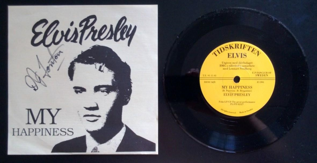 My Happiness by Elvis Presley