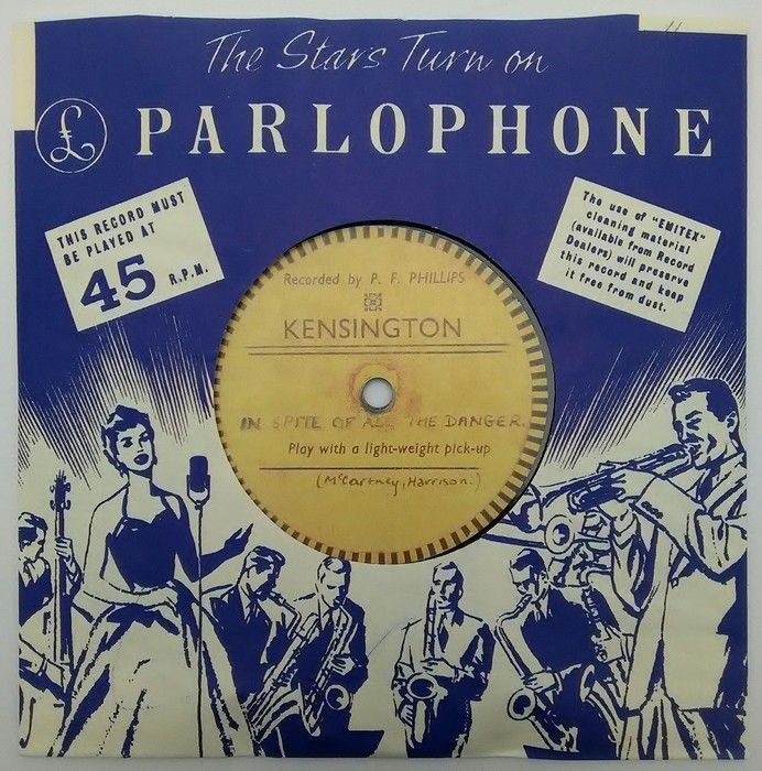 Quarrymen - In Spite Of All The Danger/That'll Be The Day