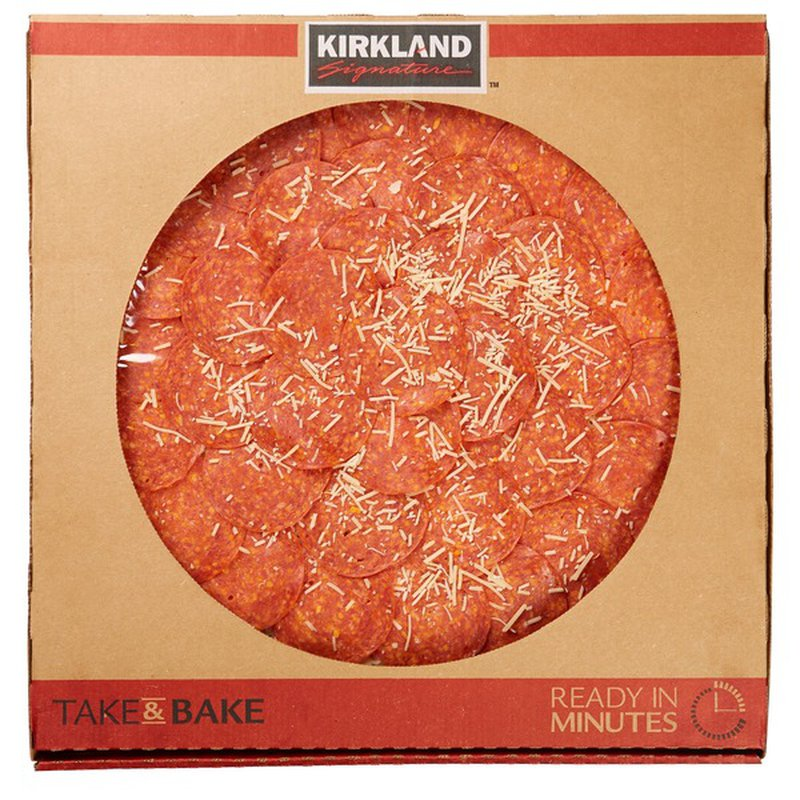 costco take and bake pizzas